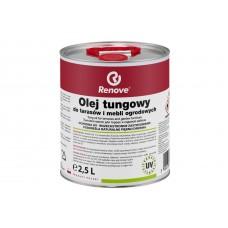 Renove тунговое масло для террас